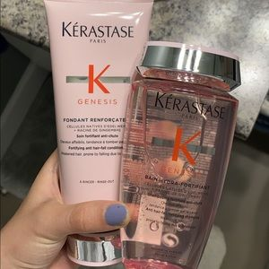 Kerastase Fortifying Shampoo & Conditioner